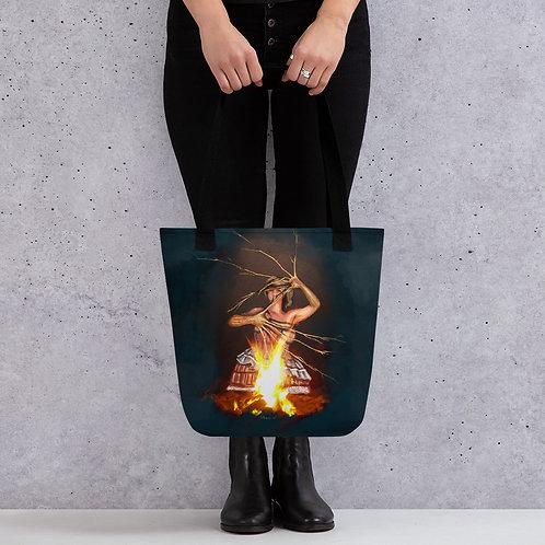 Magic fire Tote bag