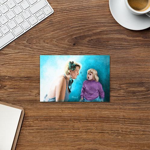 Future self Postcard