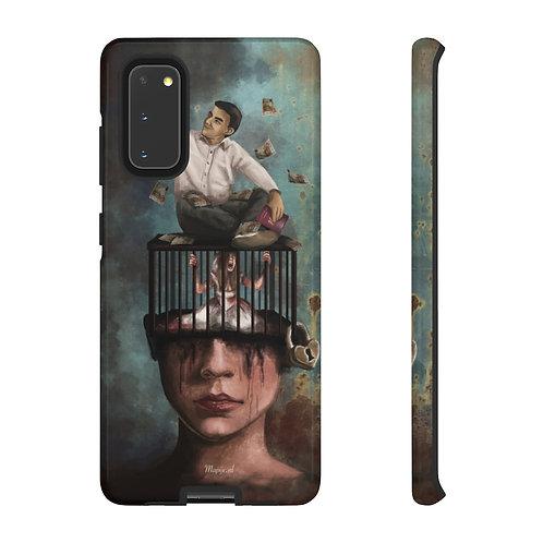 Manipulation phone case