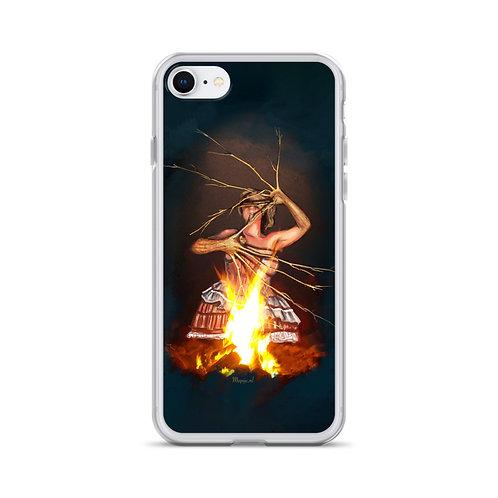Magic fire iPhone Case