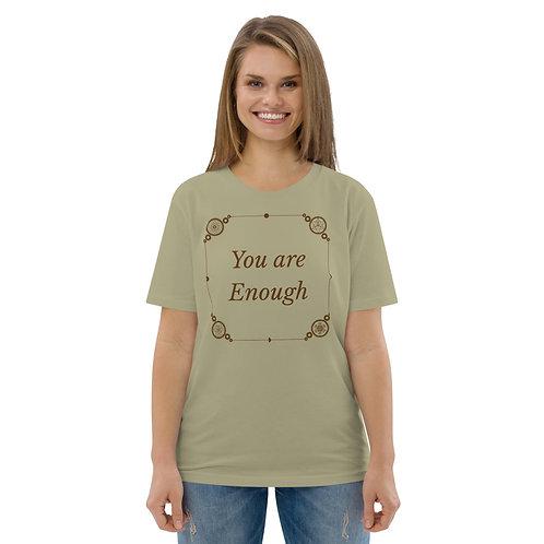 Enough Unisex organic cotton t-shirt