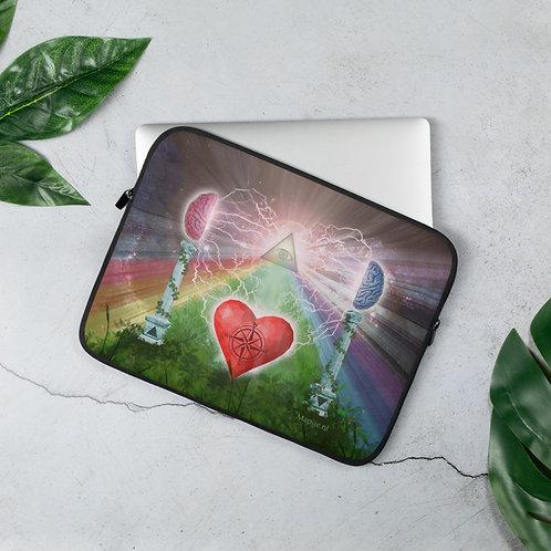 heart mind awareness Laptop Sleeve
