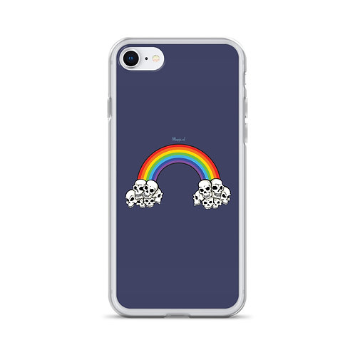 Embracing death iPhone Case