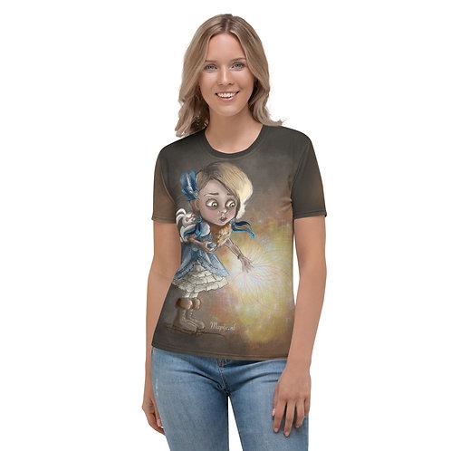 Healing hands Vrouwen T-shirt
