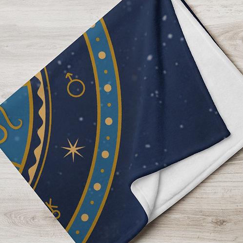 Zodiac Throw Blanket
