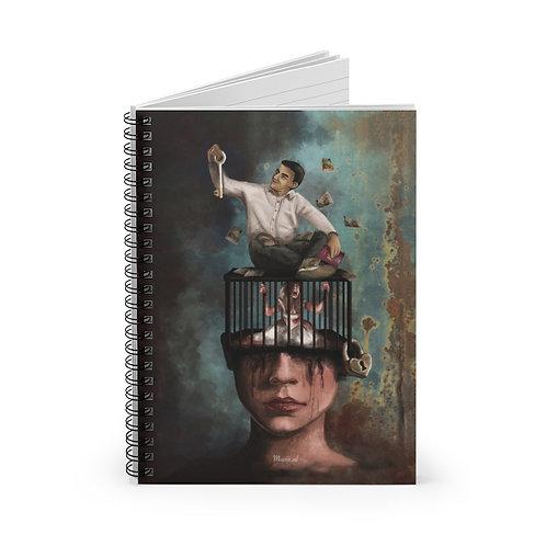 Manipulatie Spiraal Notebook - Lijn met lijn