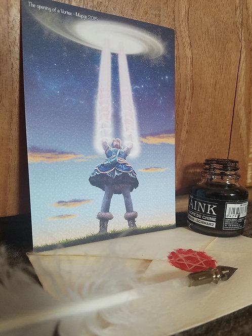 Postcard Opening a Vortex