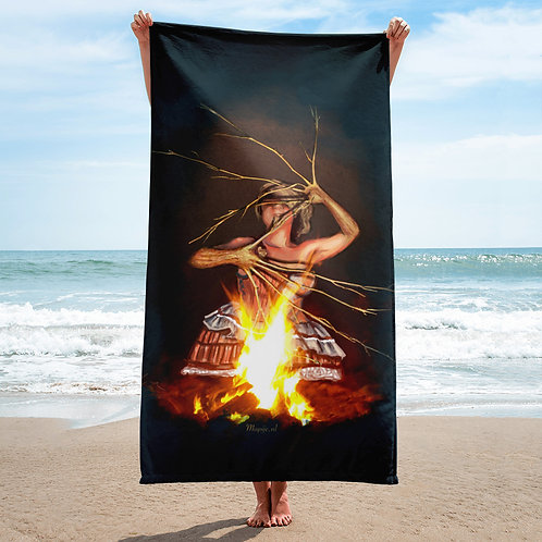 Magic fire Towel