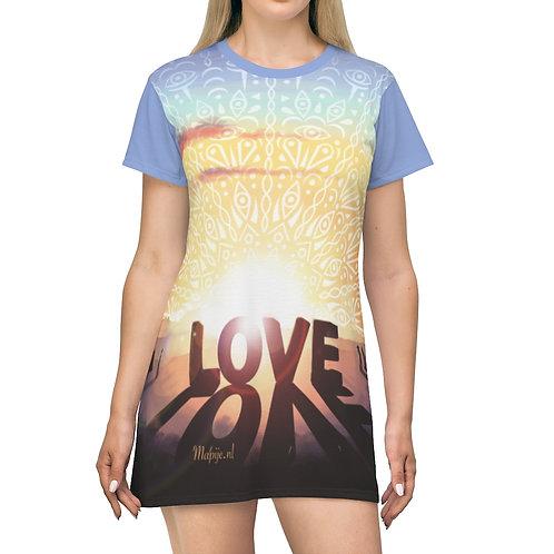 Love T-Shirt-jurk