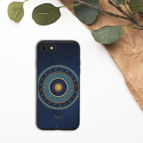 Zodiac Biodegradable phone case