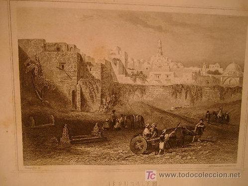 Grabado de Jerusalén