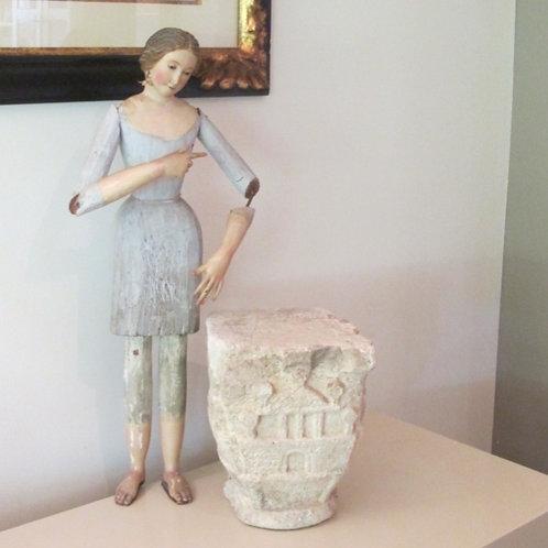 Cap y Pota - Virgen de Vestir S.XIX