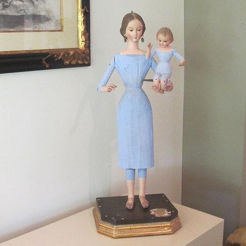 Cap y Pota - Virgen del Carmen con niño