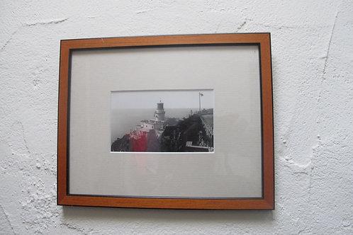 Fotografia enmarcada del Faro de Llafranc