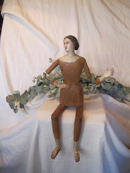 Cap i Pota - Virgen de Vestir - Dolorosa sedente - Siglo XIX