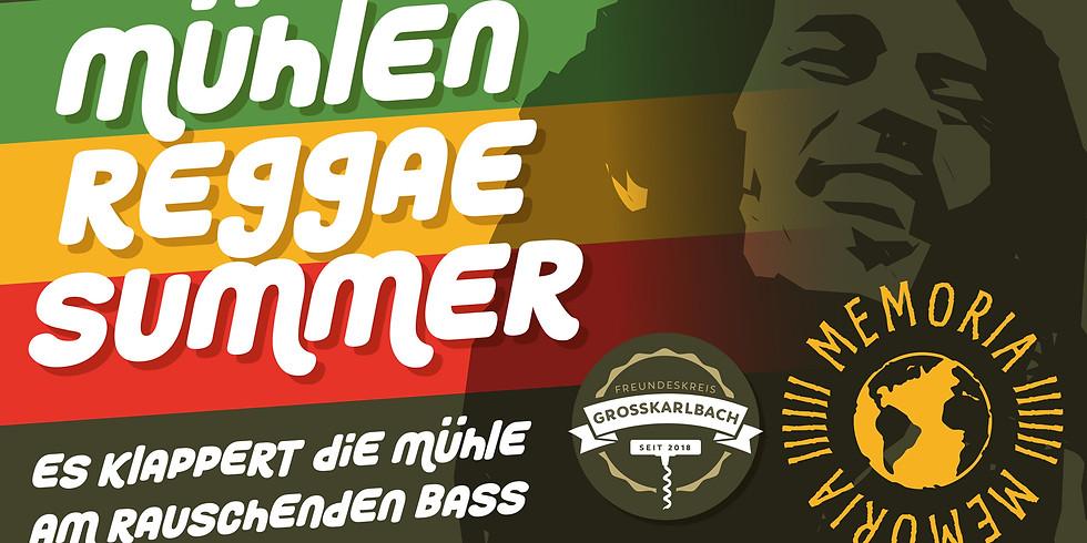 Mühlen Reggae Summer mit MEMORIA