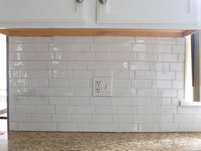 Installing Peel and Stick Tile in the Kitchen
