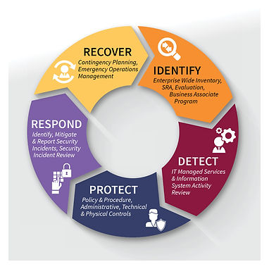 Identify, detect, protect, respond, recover