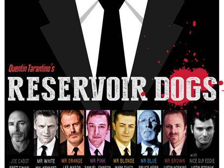 HST read Tarantino classic for Lost Dogs Home.