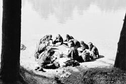 Monks picnic