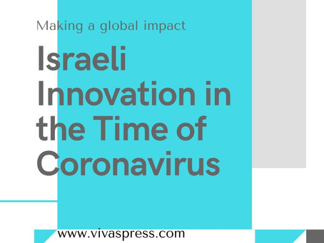 New talk: Israeli innovation in the time of Coronavirus