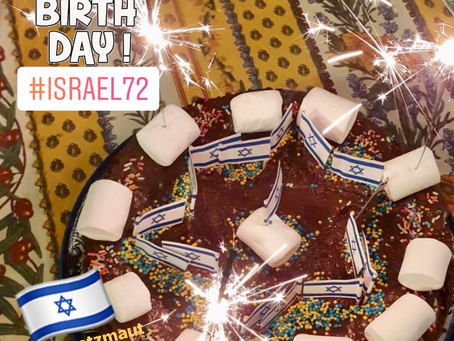 Israel is 72!