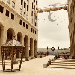 Shopping complex in Rawabi