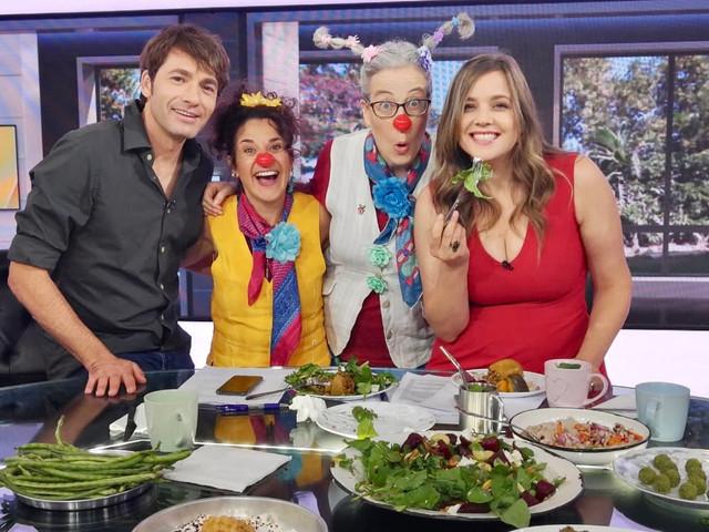 Hebrew tv spot on clowns in schools