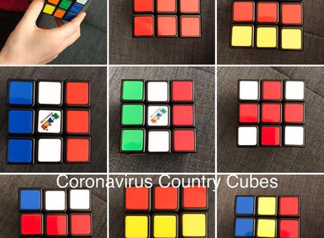 Coronavirus creativity: Country cubes