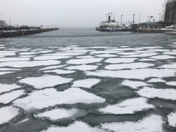 Frosty Waterfront