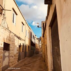 Alley in Isfiya 2018