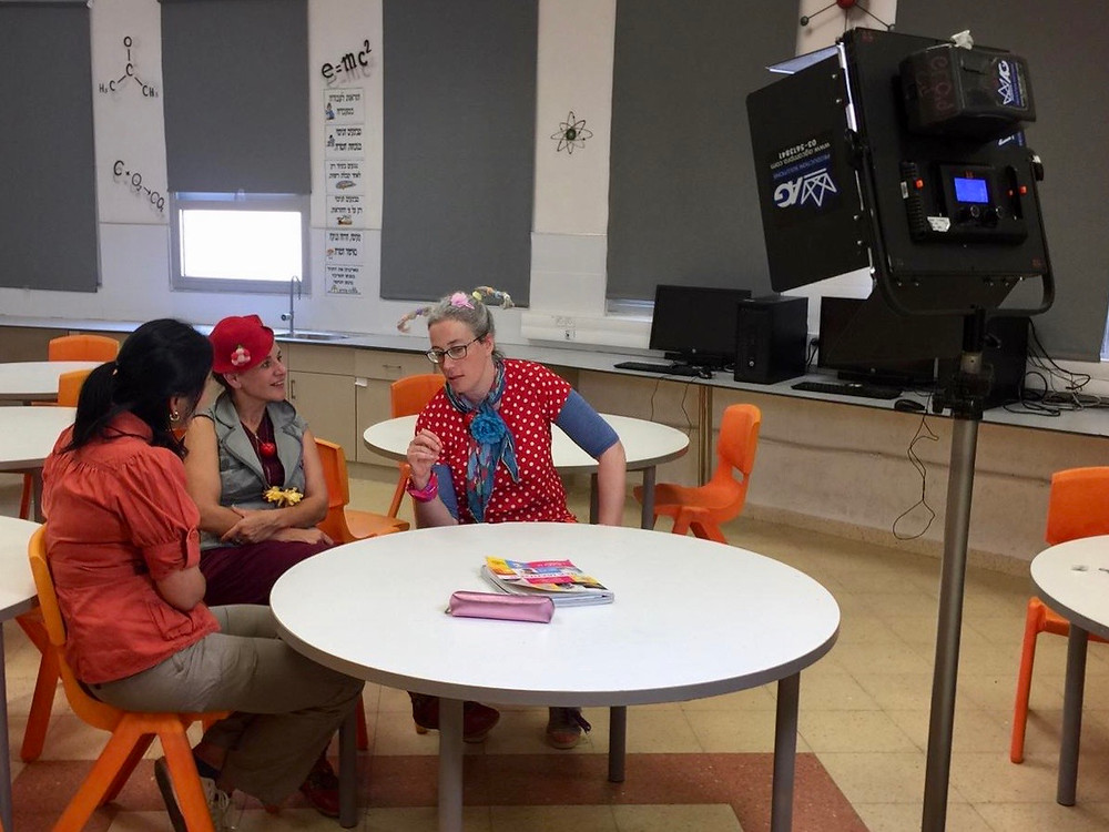 Yijun Zhou speaks with Talia Safra and Viva Sarah Press about educational clowning.