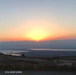 Sunrise on Masada