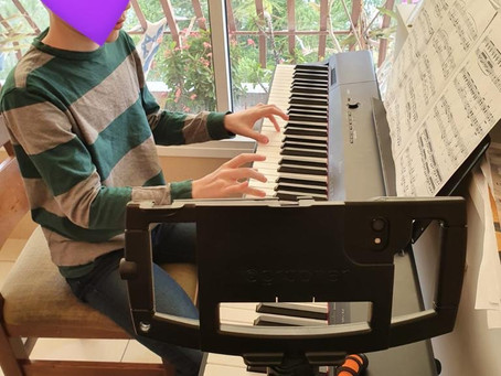 Piano lessons in the time of Coronavirus
