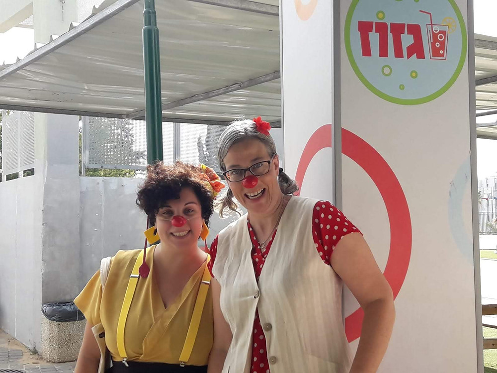 Educational clowns Sol and Soli. Israel 2018