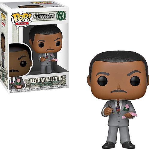 FUNKO POP MOVIES TRADING PLACES BILLY RAY VALRNTINE 674