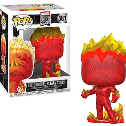 FUNKO POP MARVEL 80 FIRST APPERENCE HUMAN TORCH 501