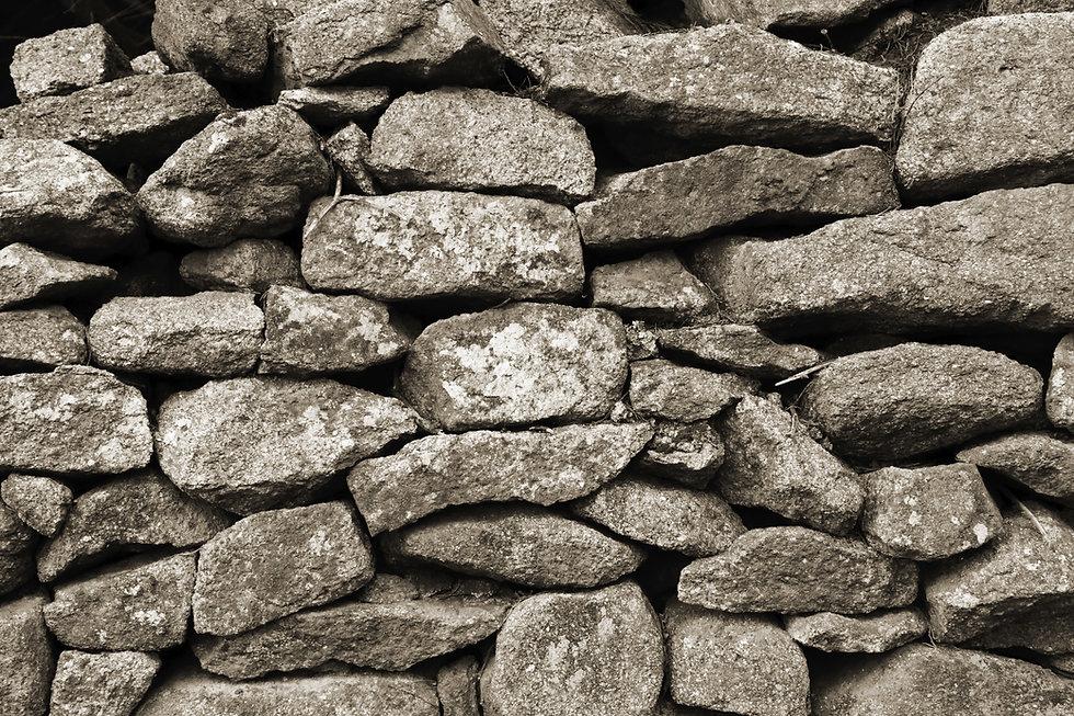 Pared de piedra