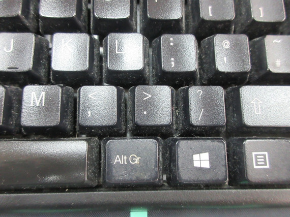 typical office computer keyboard