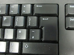 Clean keyboard in Surrey after techclean have cleaned it