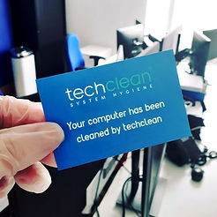 Your computer has been cleaned by Techclean