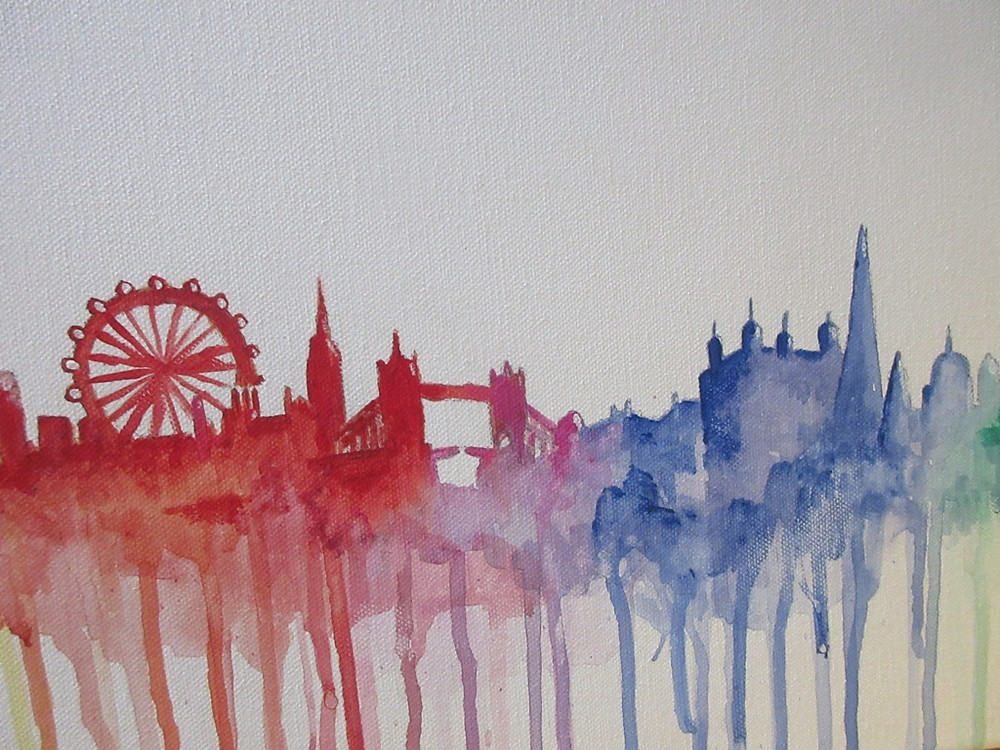 Art NIght example to advertise trip coming up for Made In MOlesey gang