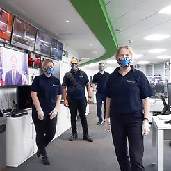 Techclean London and Surrey team at work cleaning computers