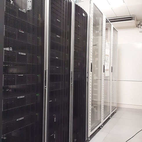 Server rack cleaning by Tech clean keeping IT management happy