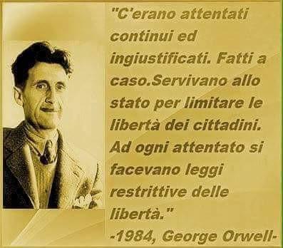 """""""1984 di Orwell...attuale e visionario"""", di Massimiliano Ferri"""