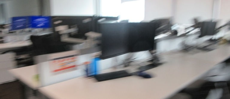 Blurry office background image