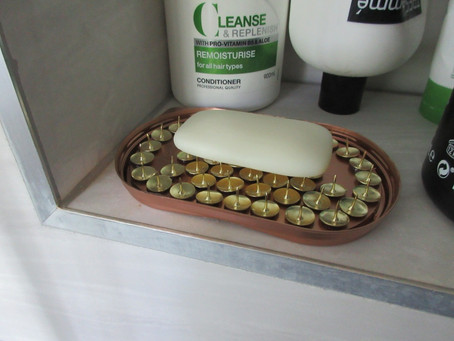 Soap Dish Made From Upcycled Bits