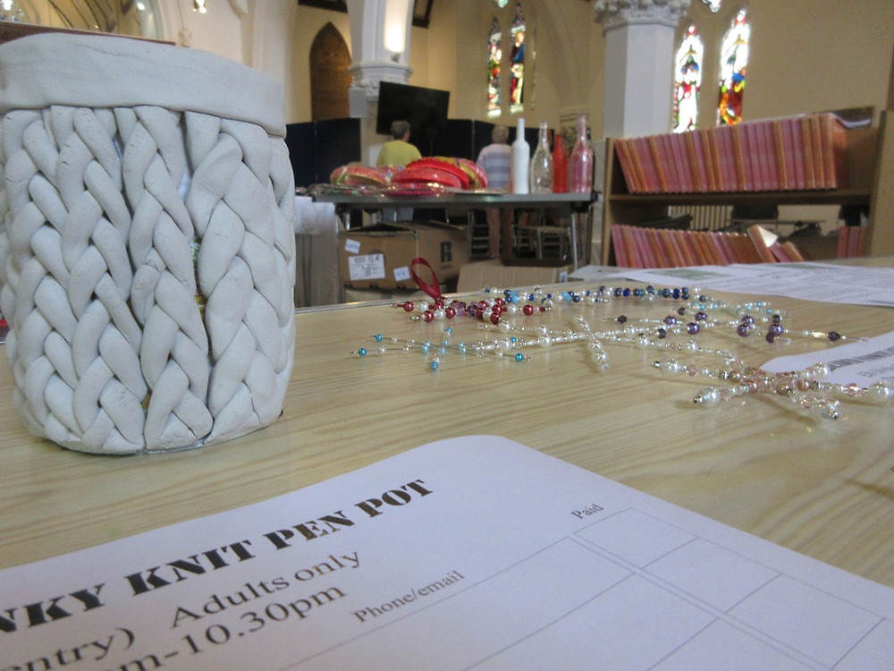 Local church workshops coming up at Made In MOlesey