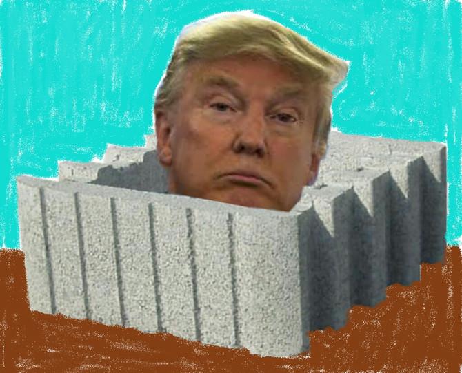 """Muro """"esclusivo""""...Muro """"inclusivo"""""""