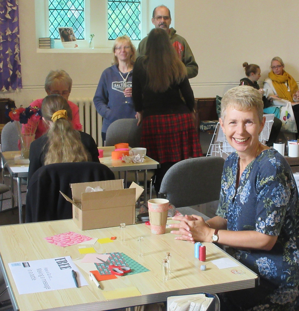 Making at the Craftaway at St Mary's Church East Molesey